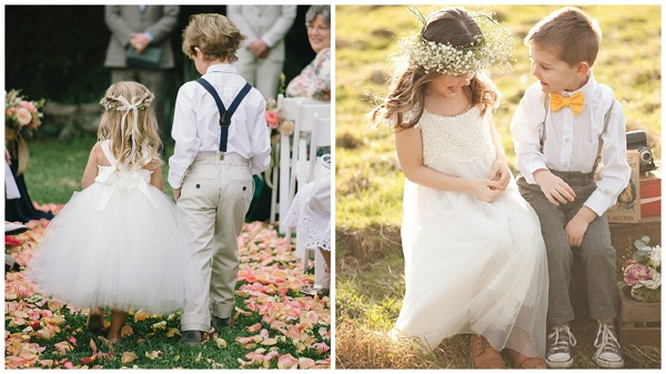 Top 10 flower girl and page boy accessories