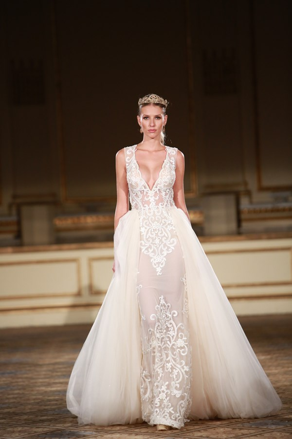 sheer wedding dress trend