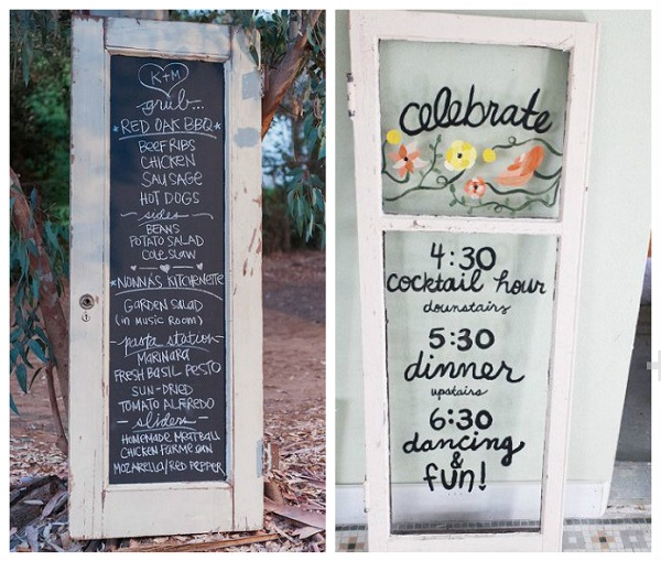 upcycled wedding decor 10