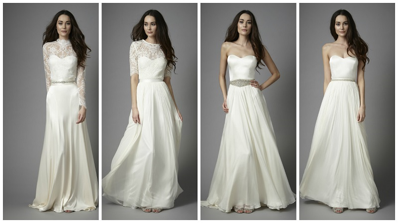 two-piece wedding dress 8