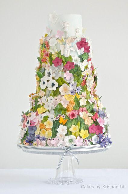 easter wedding inspiration - cakes