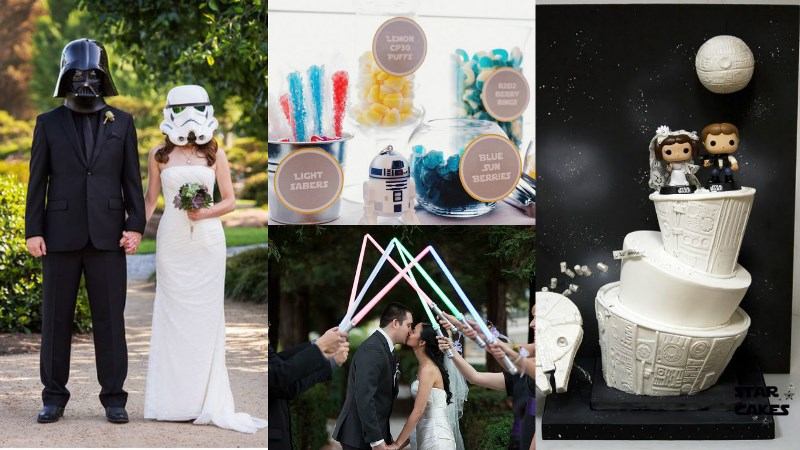 geek-chic wedding theme inspiration