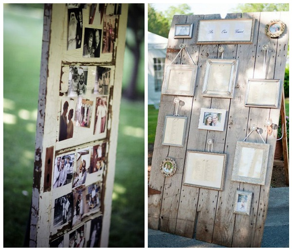 Upcycled wedding décor 2