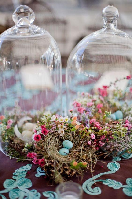 easter wedding ideas - decor
