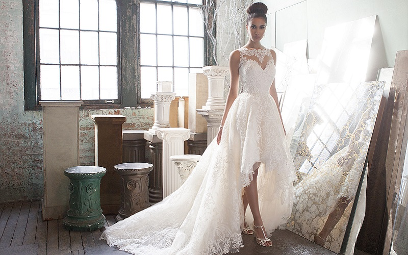 asymmetrical wedding dresses 10