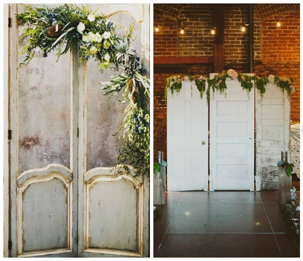 Upcycled Wedding D 233 Cor Nine Uses For Old Doors Wedding
