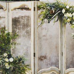 Upcycled wedding décor 1
