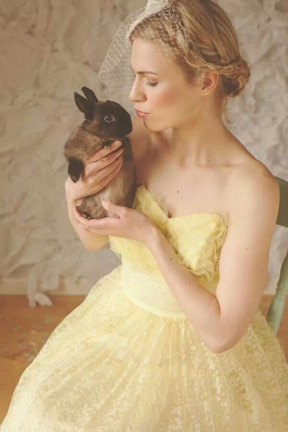 easter wedding inspiration bunnies 2