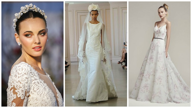 5b4bb13cfa13 2017 wedding dresses from New York Bridal Week runways | Wedding Journal