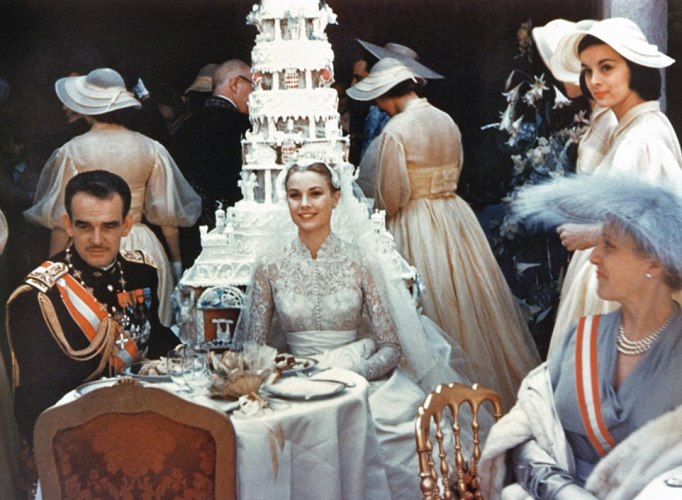 grace kelly wedding pictures
