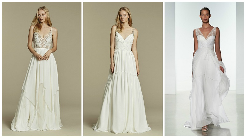 lightweight wedding dress 2