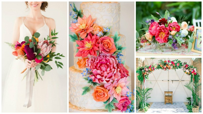 totally tropical wedding decor 7