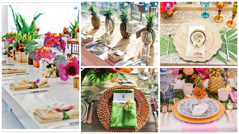 totally tropical wedding decor 8