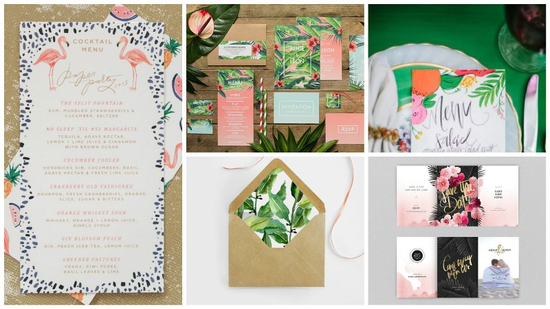 totally tropical wedding decor 1