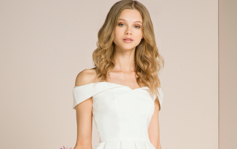 93fd474f Top 30 budget-friendly white party dresses for brides-to-be | Wedding  Journal