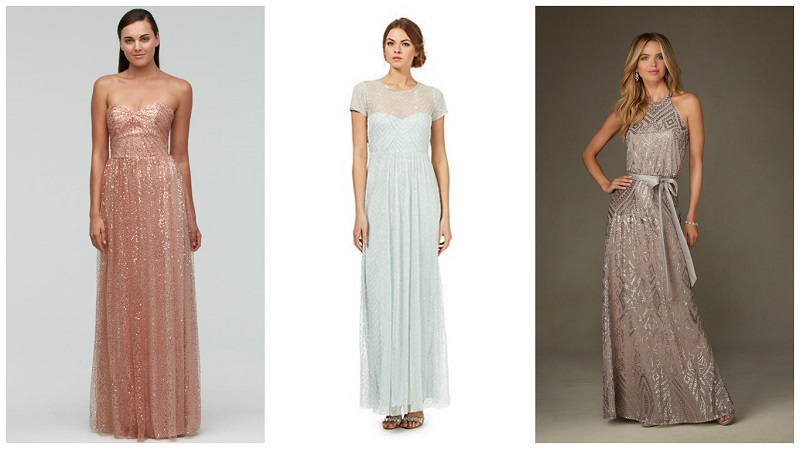 bridesmaid dresses your friends will love - sparkles 1
