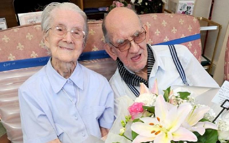Couple celebrate 75th anniversary despite having same row 4,000 times