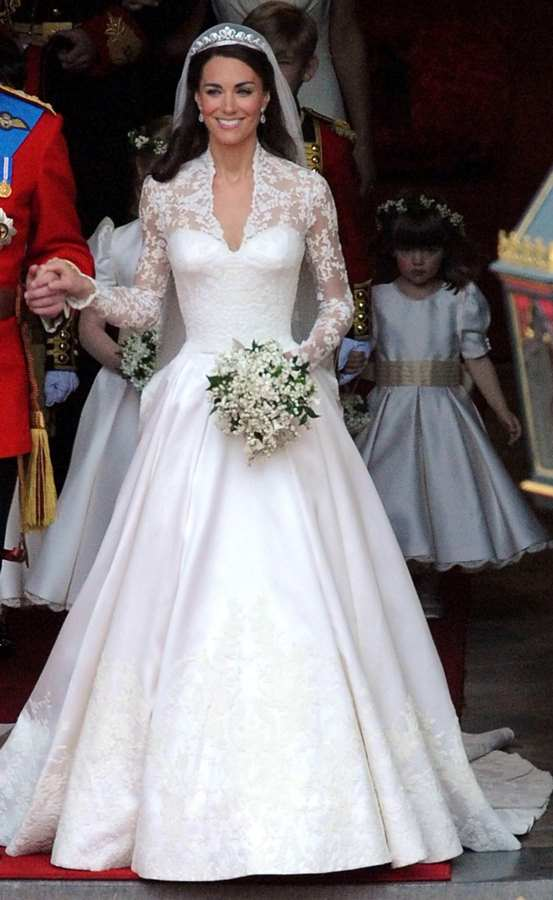 Designer claims Kate Middleton\'s wedding dress was copyrighted from ...