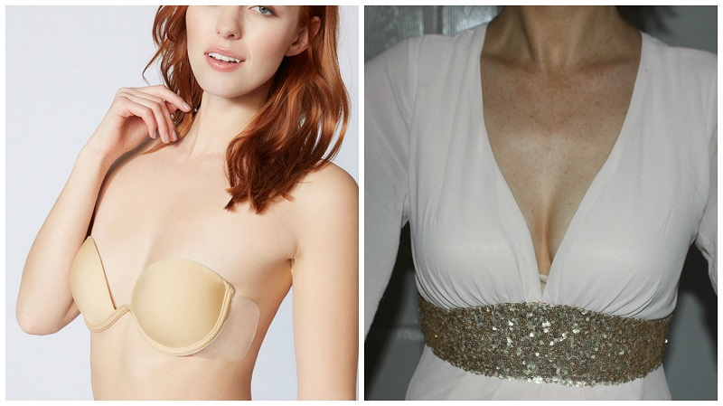 Best Bra for Backless & Low Cut Wedding Dresses | Wedding Journal