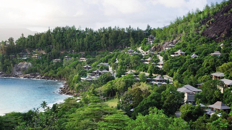 honeymoon at Four Season Seychelles 2
