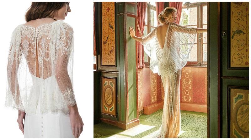 wedding dress capes 3