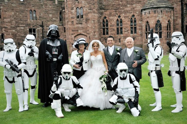Star Wars themed wedding 10