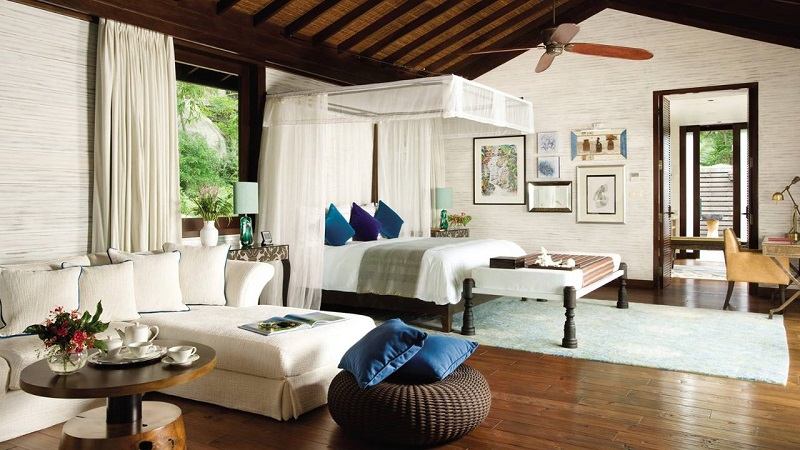 Honeymoon in the Presidential suite Four Seasons Seychelles