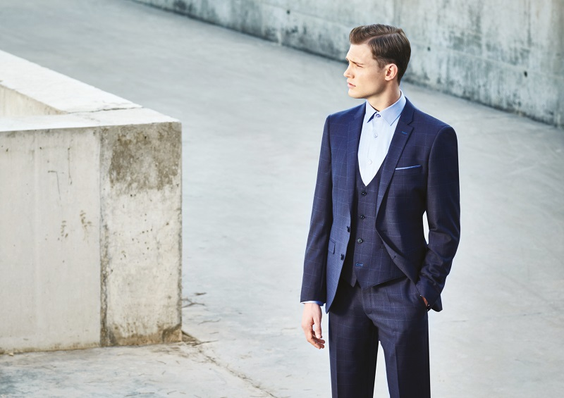 Grooms are making a statement with the latest suit trend