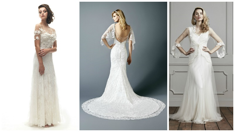 wedding dress sleeves 5