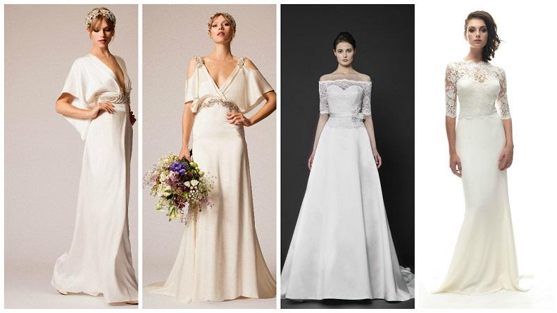 wedding dress sleeves 6