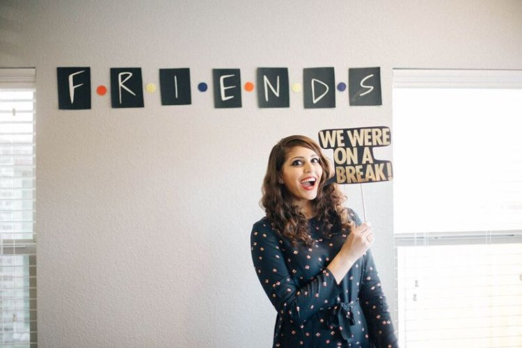 friends themed bridal shower  2