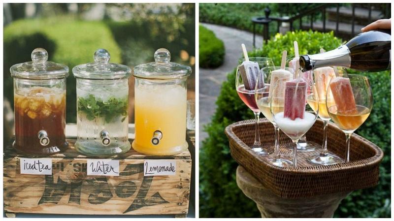 summer wedding ideas - cool refreshments 2