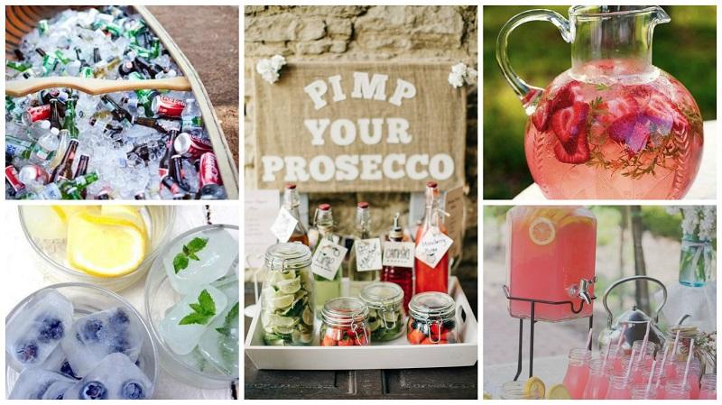 summer wedding ideas - cool refreshments