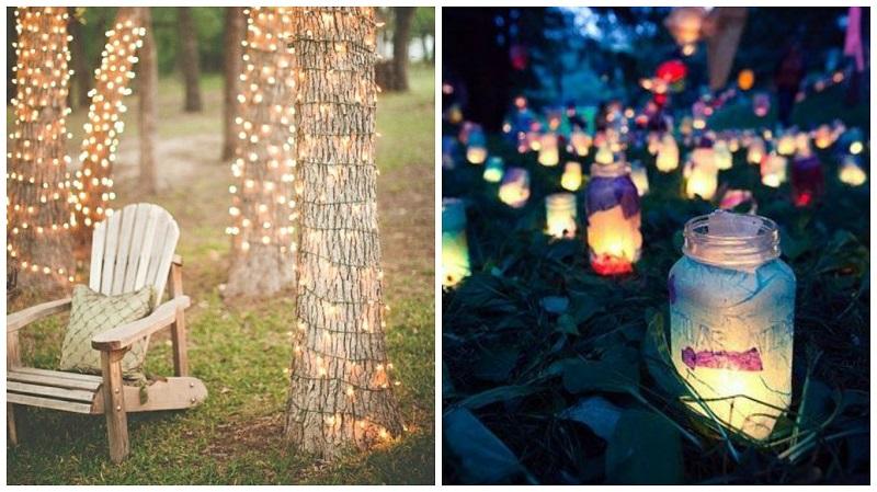 summer wedding ideas- lighting