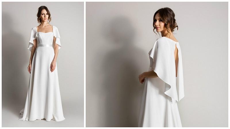 wedding dress capes 2