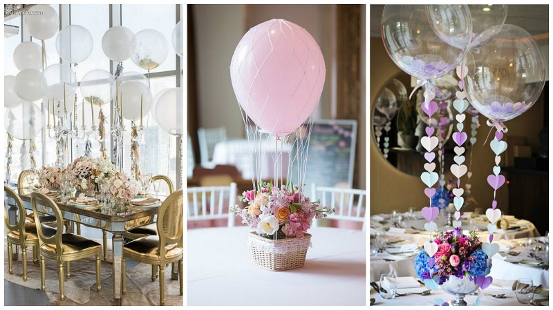 Fun And Creative Ways To Use Balloons On Your Wedding Day