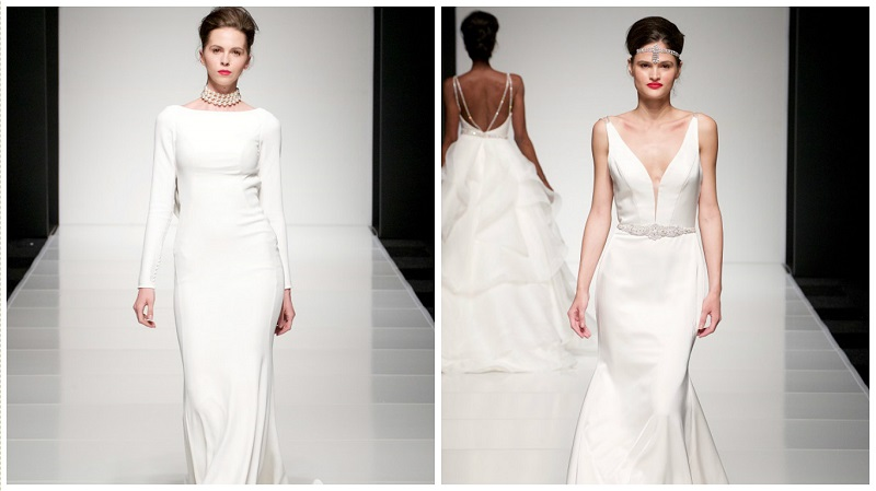 white gallery wedidng dress trends - simplicity