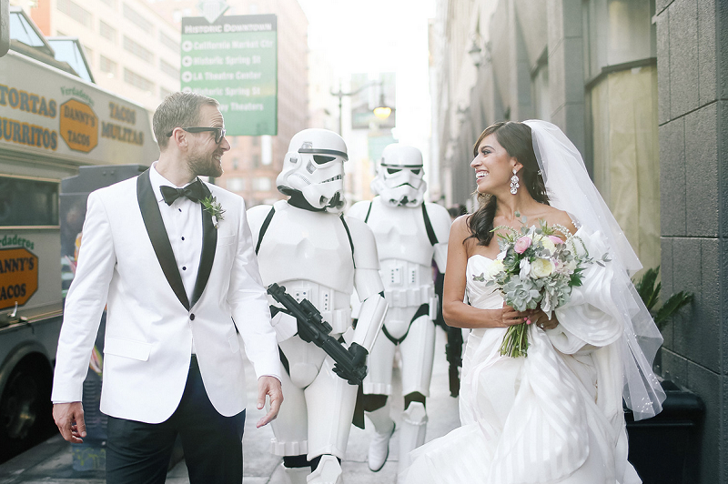 Star Wars themed wedding 5