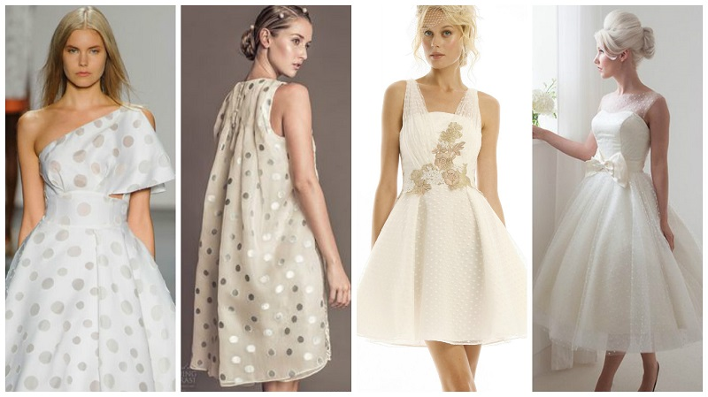 polka dot wedding dress 6
