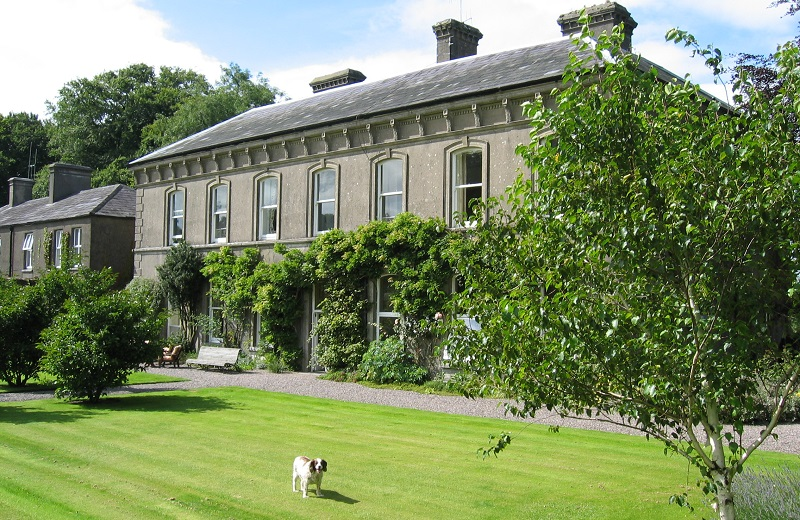 irish wedding venues with gardens Ballyvolane House