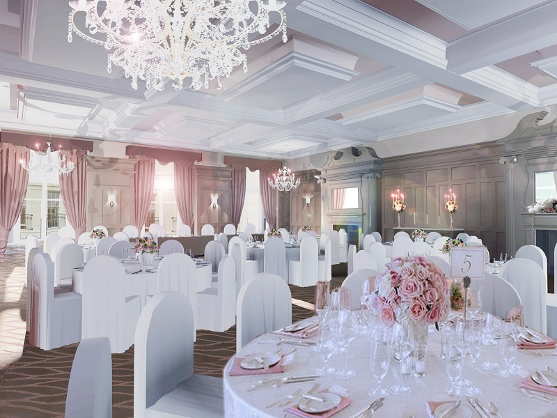 new wedding venue Bishop's Gate Hotel