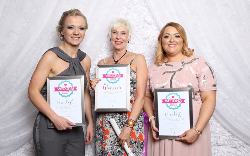 Wedding Journal Reader Awards hair stylist