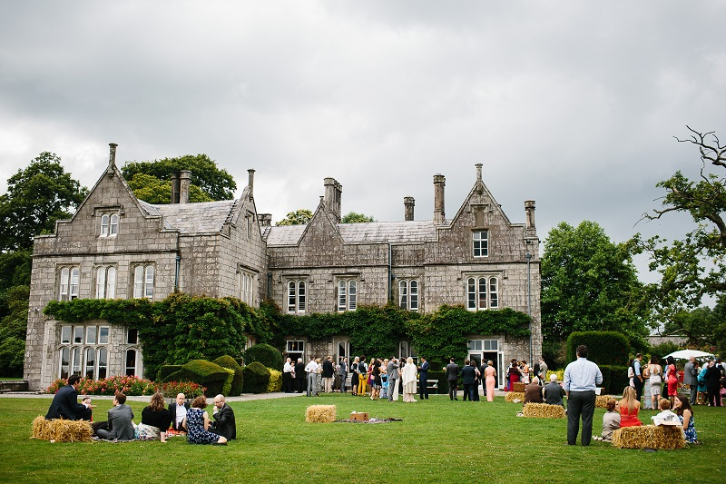 irish wedding venues with gardens Lisnavagh