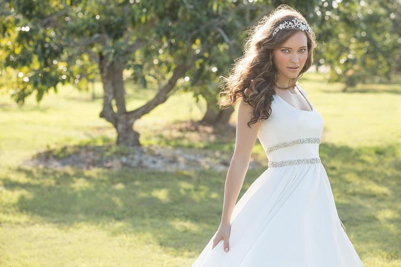 Madison James at Marie Therese Bridal