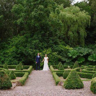 irish wedding venues with gardens Marfield House