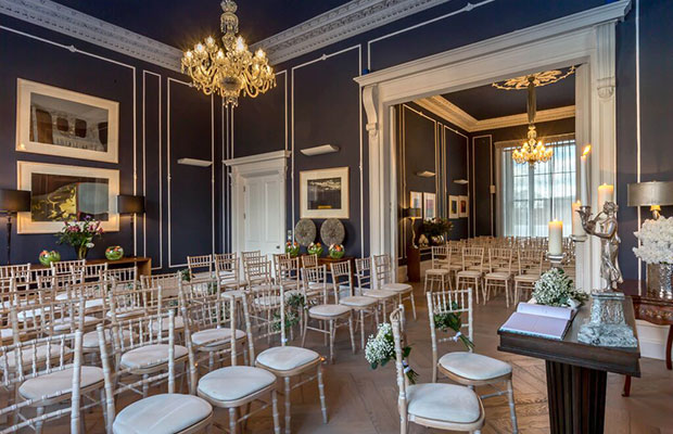 Dublin wedding venue No.25 Fitzwilliam Place