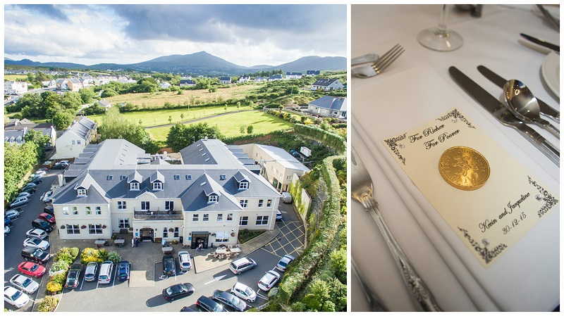 Ballyliffin Lodge and Spa Hotel wedding 4