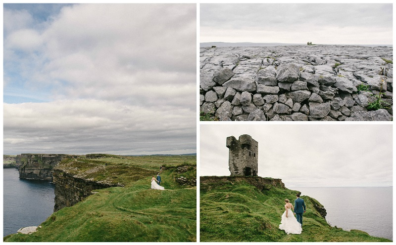 Cliffs of Moher wedding 9