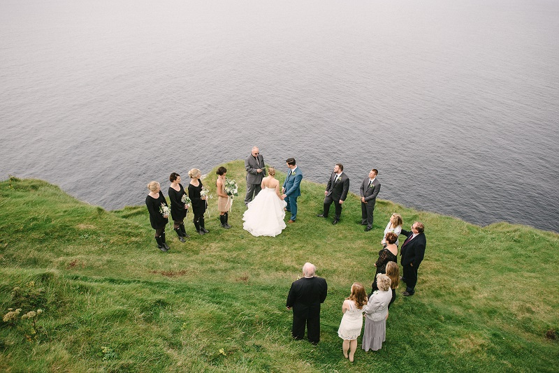 Cliffs of Moher wedding 10