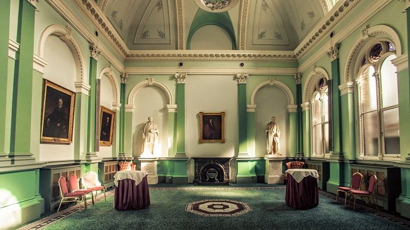 Dublin wedding venue no.6 Kildare Street